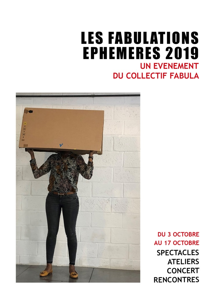 Fabulations éphémères 1 - 2019 version 3