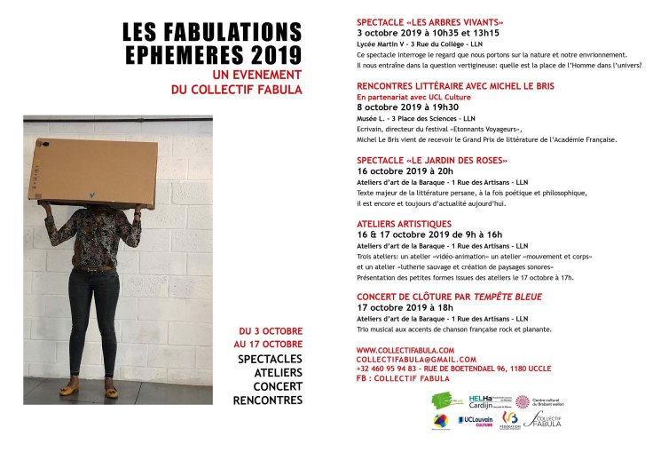 Fabulations textes newsletter
