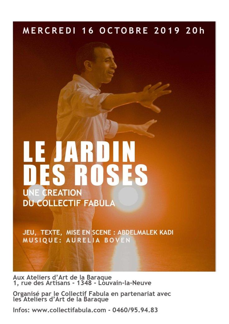 Flyers Jardin des Roses 16 octobre 2019